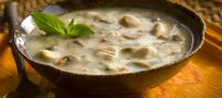 طرز تهیه سوپ خوشمزه خامه بسیار عالی و تند