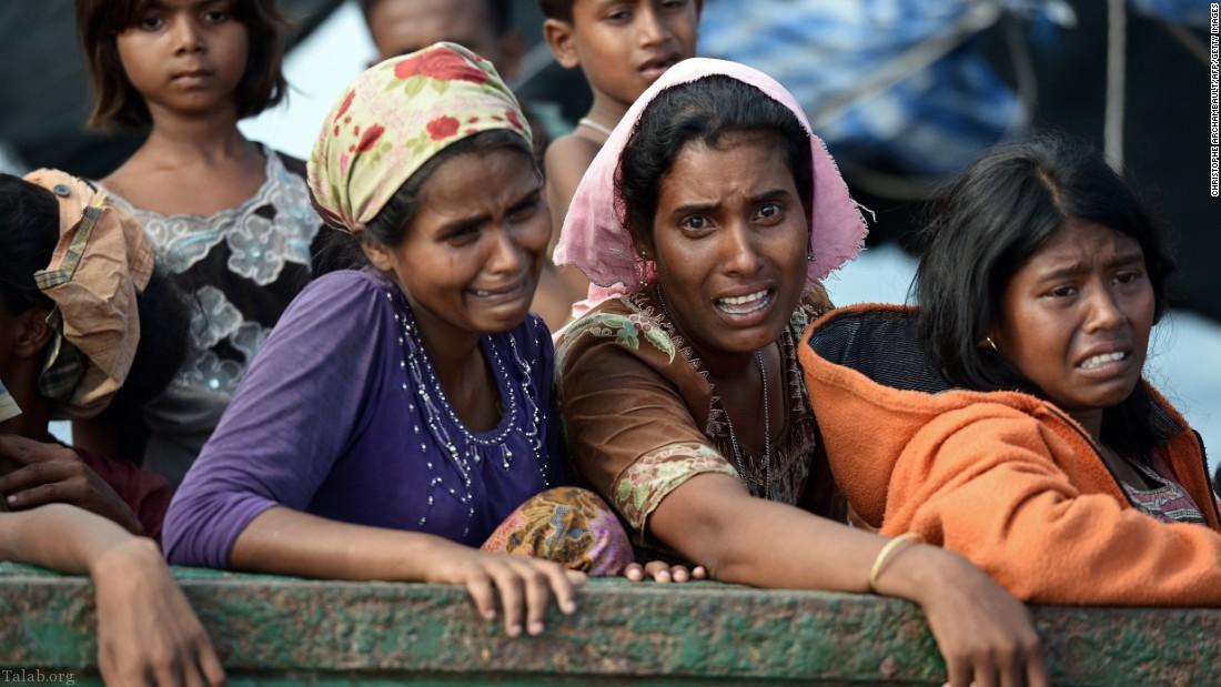 آمریکا عملیات میانمار را پاکسازی قومی خواند !