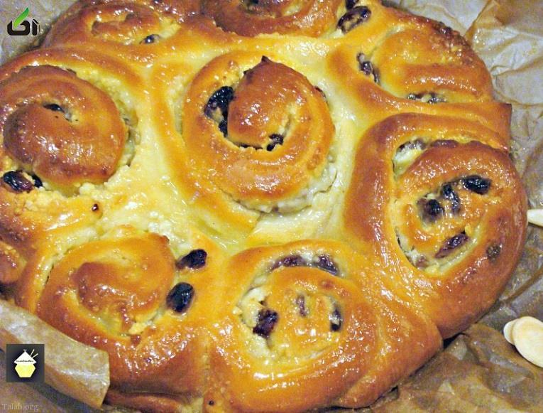 دستور پخت نان بادام به همراه عسل مقوی و عالی