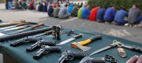 تصاویری از دستگیری 320 نفر از اراذل و اوباش در تهران