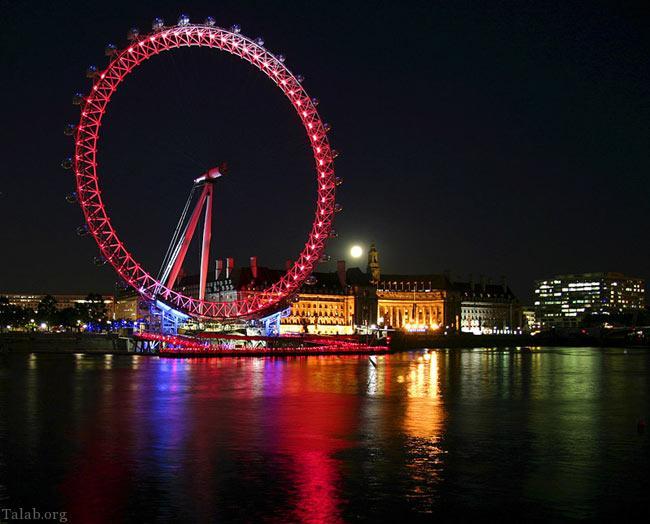 تصاویری جذاب از بلند ترین چرخ و فلک مدرن و مرتفع در جهان