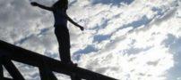 خودکشی فردی در پل میدان امام حسین (ع) مشهد (+عکس)