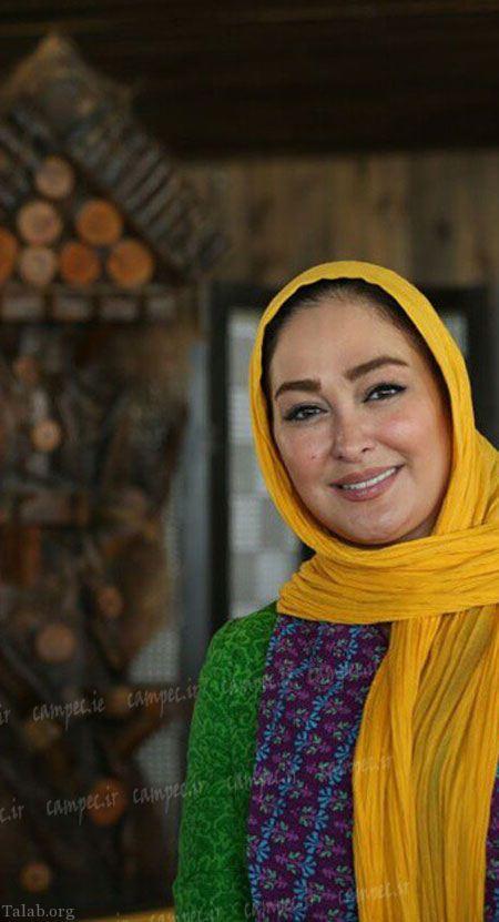 تصاویری داغ از الهام حمیدی در کنار مجری معروف