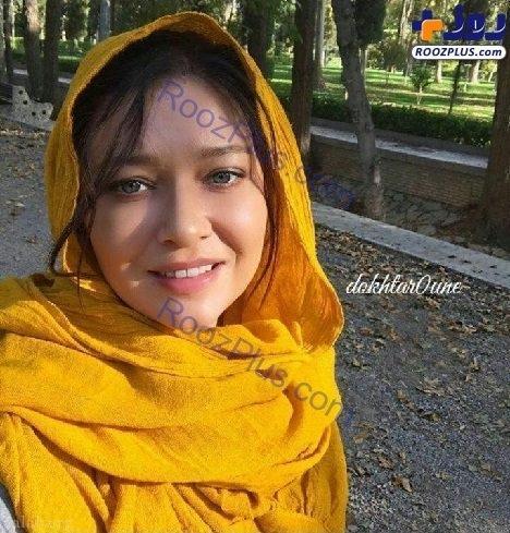 نورگل یشیل چای بازیگر ترکیه ای در ایران و حجاب جالبش در خیابان (عکس)