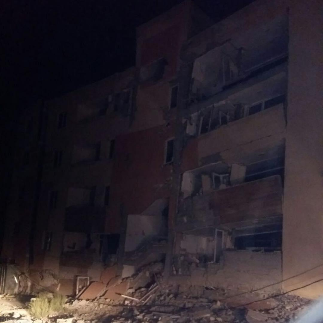 همدردی بازیگران و هنرمندان به فاجعه زلزله کرمانشاه (2)