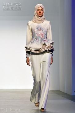 مراسم برگذاری مدل لباس با حجاب در امارات (تصاویر)