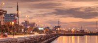 عکسی زیبا از خیابان ساحلی بندرعباس