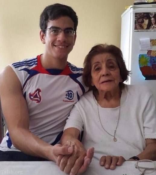 خواستگاری پسر 22 ساله از عمه 80 ساله اش (عکس)