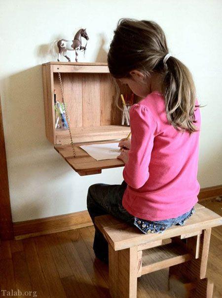 انواع مدل های خاص چیدمان میز کار در منزل