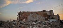 تصویر دردناک از زلزله کرمانشاه