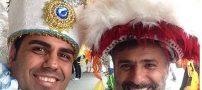 تصاویر داغ بازیگران ایرانی در سواحل برزیل