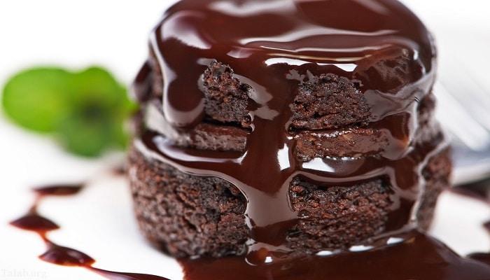 اموزش پخت کیک شکلاتی بدون تخم مرغ