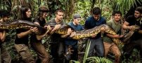 رسومات عجیب انسان ها در جنگل آمازون (عکس)