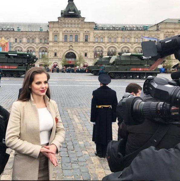 دختر جوانی که سخنگوی وزارت دفاع روسیه شد (عکس)