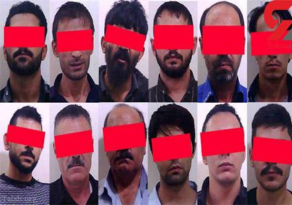 باند 12 نفری شیادان در تهران دستگیر شدند !