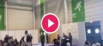 کلیپ لخت شدن زنان فمنیست در سالن پاریس