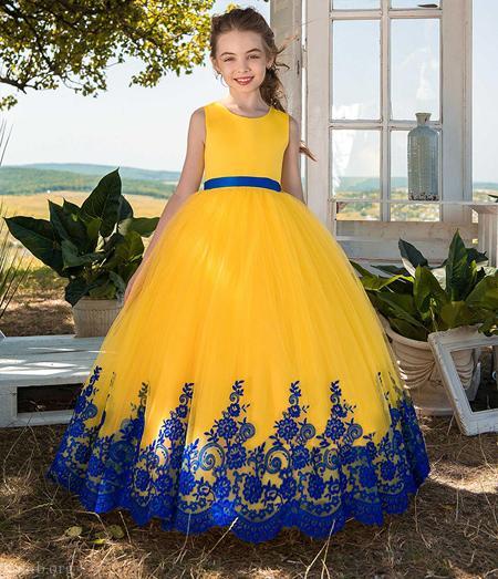 لاکچری ترین مدل لباس های دخترانه بلند و جذاب
