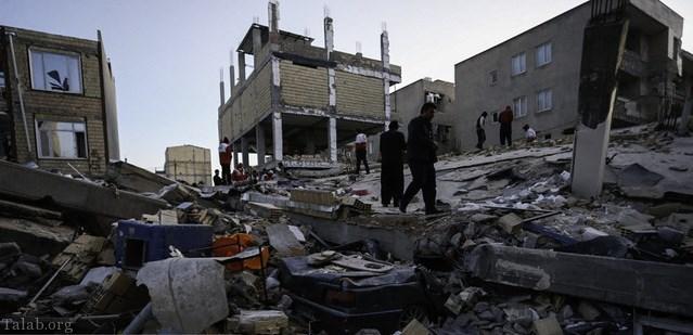 440 کشته در زلزله کرمانشاه