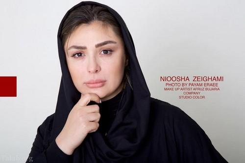 طلاق نیوشا ضیغمی از همسرش واقعیت دارد ؟ + فیلم