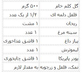 دستور تهیه برنج گل کلم ویژه تناسب اندام و رژیم