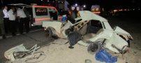 واژگونی پیکان در جاده شیراز 5 کشته داد (عکس)