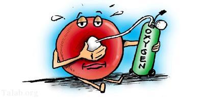 نکاتی برای متوجه شدن از کمبود اکسیژن در خون