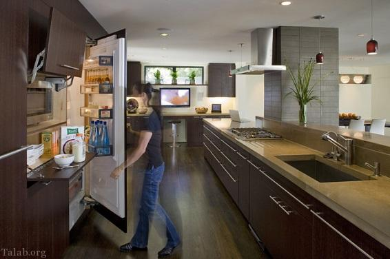 کثیف ترین مکان های آشپزخانه کجاست ؟