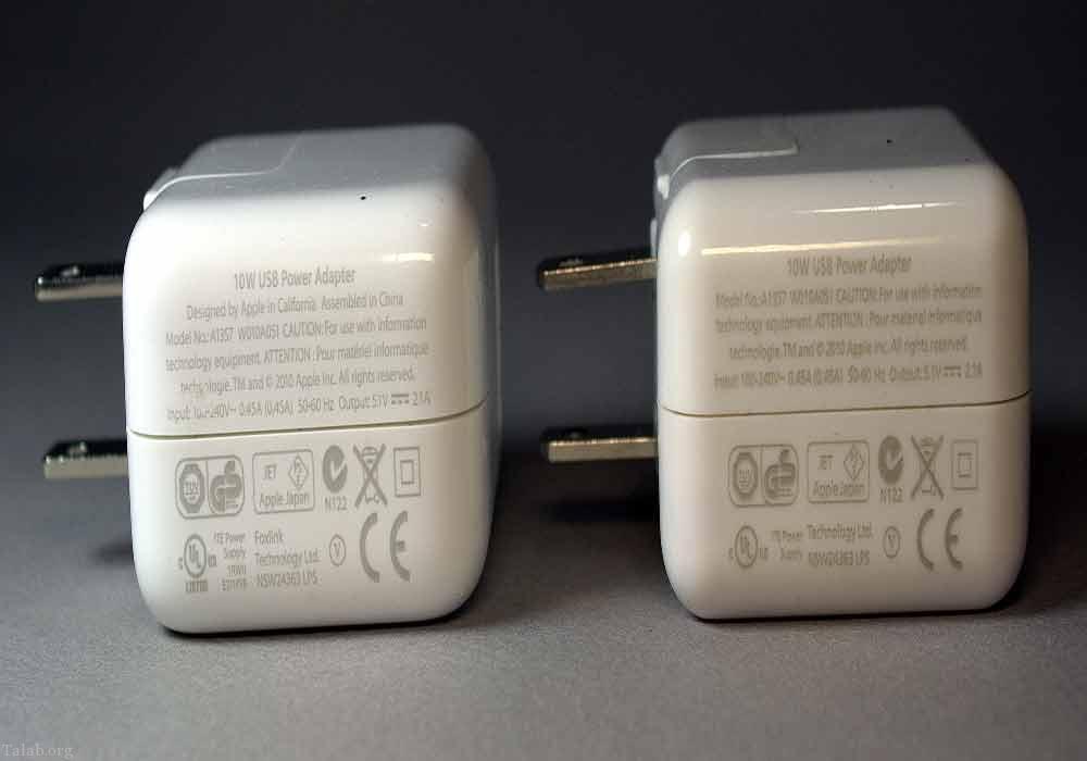 چگونه بفهمیم شارژر گوشی ما اصل است یا تقلبی ؟