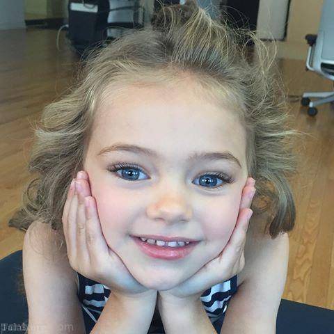 آشنایی با زیباترین کودکان جهان در سال 2018