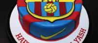 عکس های جذاب از کیک های تولد تیم بارسلونا