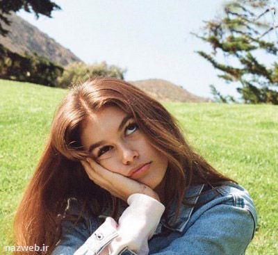 تصاویری داغ از مدلینگ جذاب 14 ساله بر روی مجله معروف