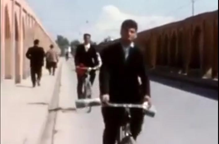 فیلم رنگی قدیمی از اصفهان در سال ۱۳۴۰