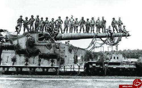 ساخت غول پیکر ترین توپخانه جهان به دستور هیتلر (+تصاویر)