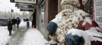 بارش سنگین برف در آمریکا با شروع تعطیلات کریسمس (+تصاویر)