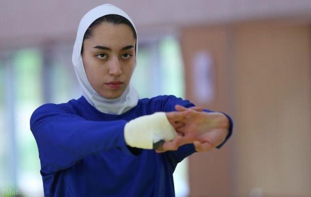 زمانیکه کیمیا علیزاده دست به قلم میشود (عکس)