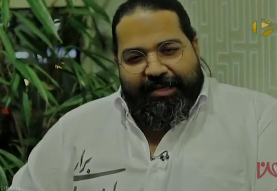 رضا صادقی لباس مشکی را از تن در آورد (+فیلم)