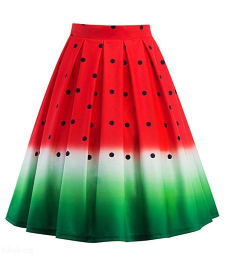 لباس های جالب شب یلدا به شکل هندوانه