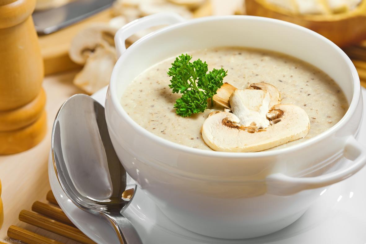 دستور تهیه سوپ سفید