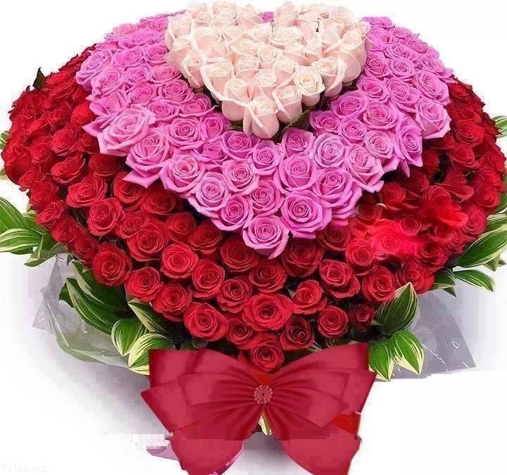 عکس سبد گل زیبا (2)
