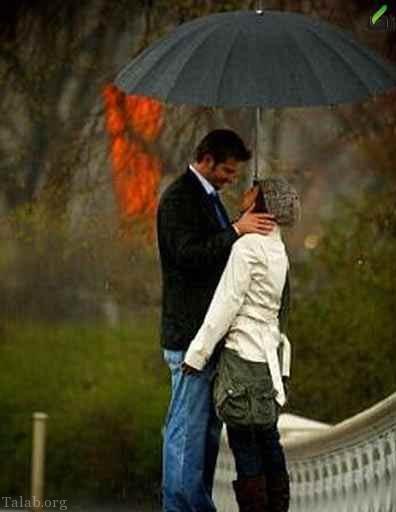 عکس پروفایل بارانی زیبا و عاشقانه