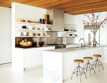 با کمترین هزینه آشپزخانه خود را لاکچری کنید !