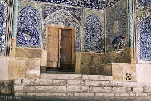 تصاویری از حضور 3 اسکیت باز خارجی در منطقه های دیدنی ایران