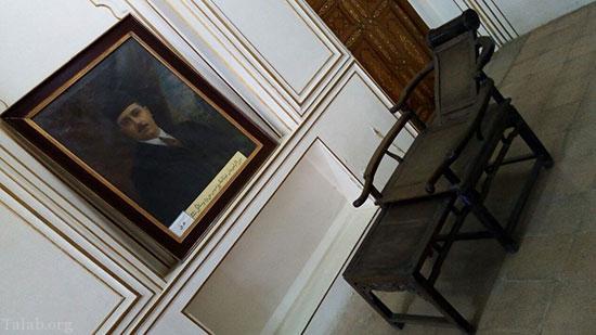 تصاویری از صندلی های راحتی جالب در زمان قاجار