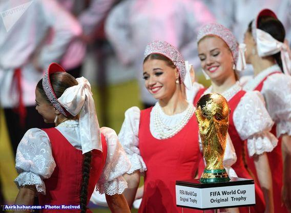 تصاویر داغ و لو رفته از مراسم قرعه کشی جام جهانی 2018