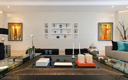 4 روش برای زیباسازی اتاق نشیمن