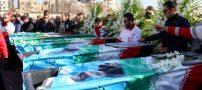 مراسم تشییع پیکر جانباختگان کوهنوردان مشهدی