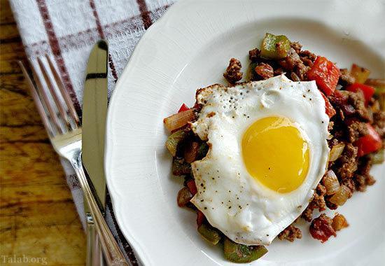 چند نمونه صبحانه ساده و مقوی با تخم مرغ