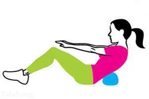 ورزش برای آب کردن شکم و قوی شدن عضلات (+تصاویر)