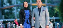 عکس های بازیگران در کنار همسرانشان جدید