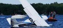 سقوط ناگهانی هواپیمایی یک نفره (عکس)